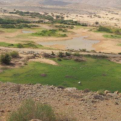 View from Ansab Dam