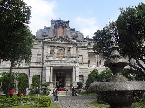 日統時代に建てられた総督官邸