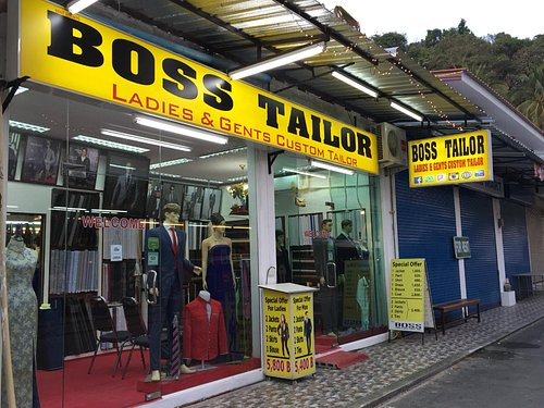 look of boss tailor
