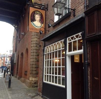 The Queens Head. Stockport