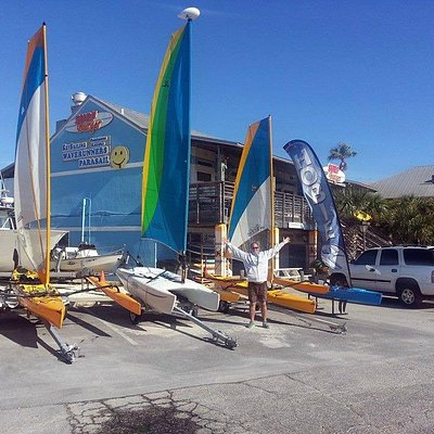 Key Sailing has all the toys.