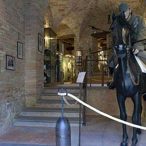 l'ingresso del museo