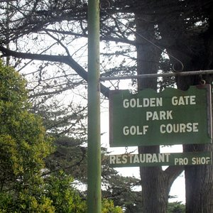 Golden Gate Golf Course - Golden Gate Park - San Francisco, Ca