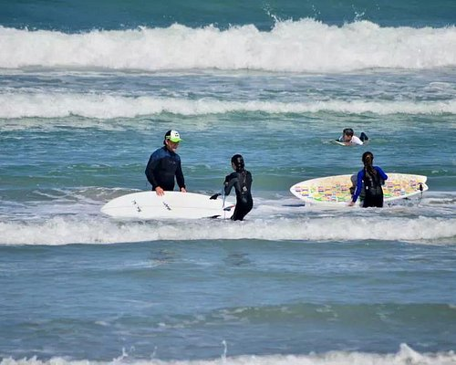 Surfing lessons.