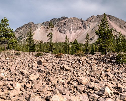 Chaos Crags and Jumbles with Mt Lassen