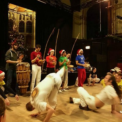 "Christmas Roda (Roda is a ""circle"" where Capoeira is played)"