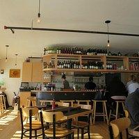 Inside Anju Noodle Bar