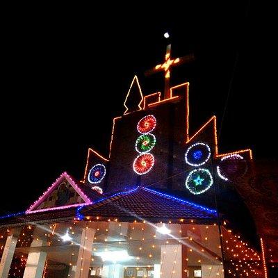 Thariode church.