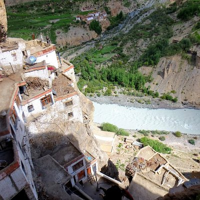 View from the gompa
