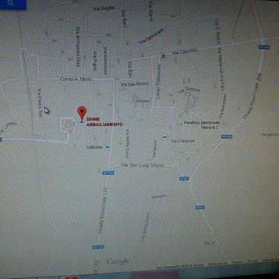 Ecco la mappa del negozio