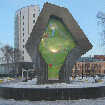 Памятник - фонтан