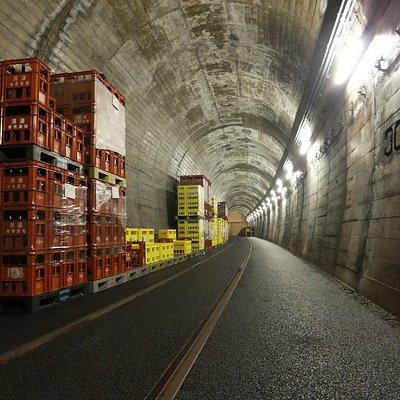 トンネル貯蔵庫