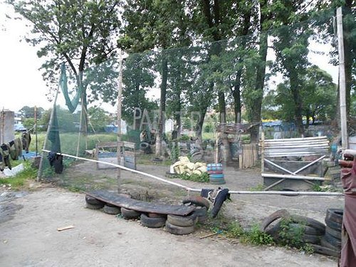 Picture of the paintball ground