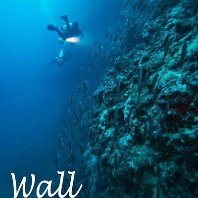 Enjoy deep wall diving