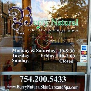 Natural & Organic Skin Care Spa