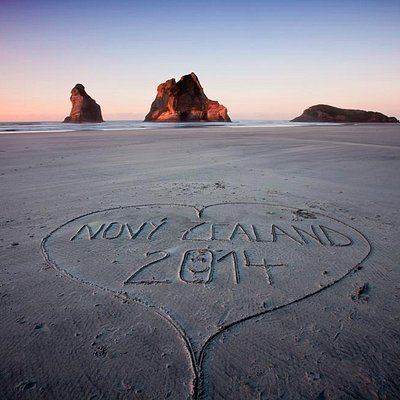 Wharariki Beach is well-loved by all