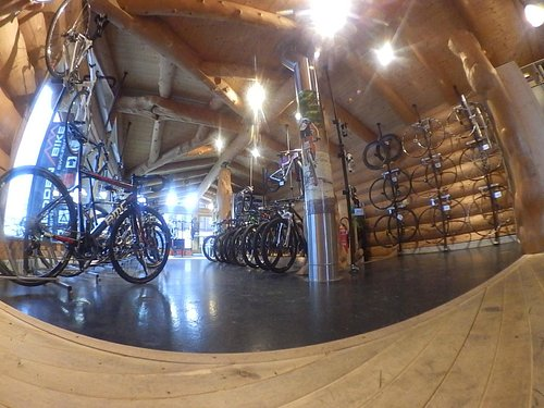The Shop. Upstairs.