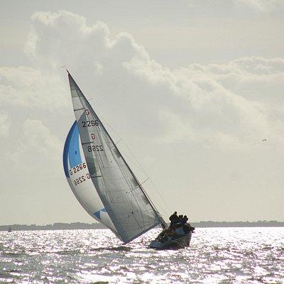 Sailing in Dunmore East