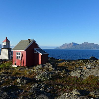 Lyngstuva - the northermost point from the Lyngen peninsula.