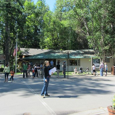 Apgar Visitor Center