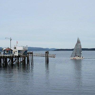 Pier & Sail boat