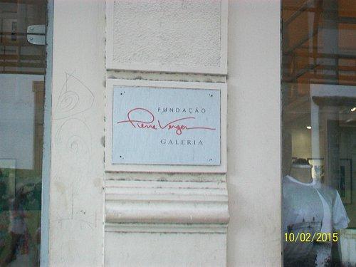 Placa na entrada