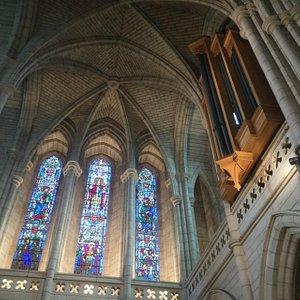 Eastern Window & Organ