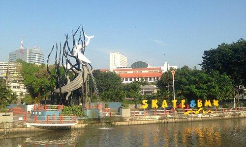 Taman Skate Board Kalimas, Monkasel Surabaya