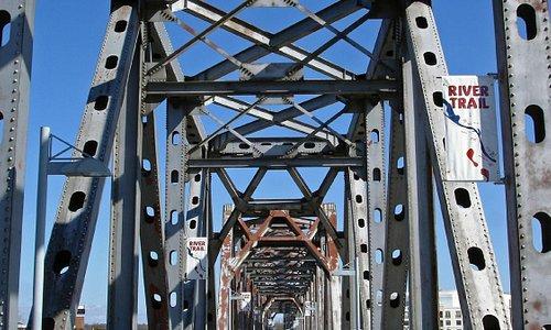 Junction Bridge. Little Rock, Arkansas