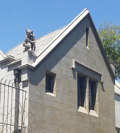 Detalhe da Casa de Las Gargolas