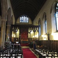 Interior of St Mary Magdalene Church