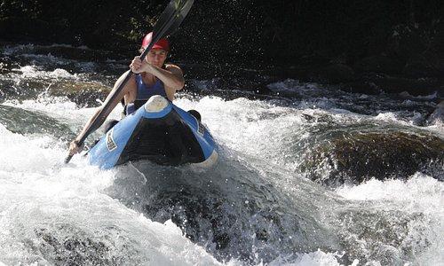 kayak air boat