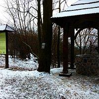 Studnia zimą (luty 2015)