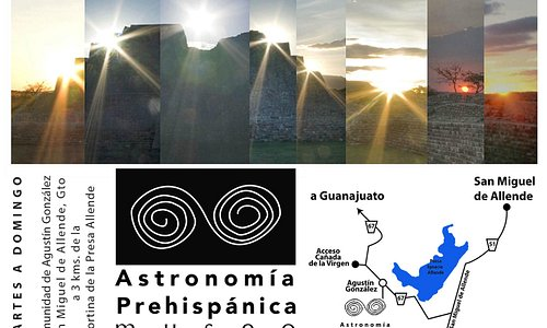 Unique museum of prehispanic astronomy opens it's doors at San Miguel de Allende, Guanajuato.