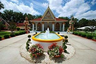 The Wat Florida Dhammaram Buddhist Meditation in Kissimmee,Florida