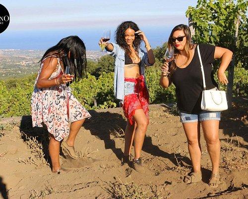 Rihanna at Gambino Winery