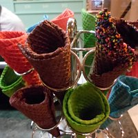 casquinhas coloridas