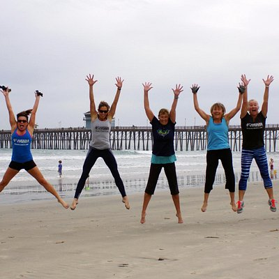 Cameron Fitness Beach Boot Camp Is Fun