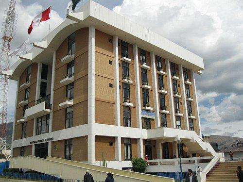 PLAZA HUAMANMARCA, Palacio Municipal.