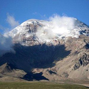 Chimborazo von SE aus gesehen