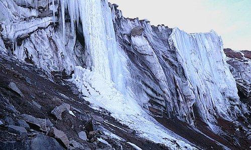 Eisbruch bei 5300 m ü.M.