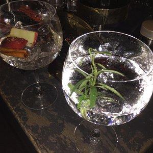 Apple Cinamon and Portobello Rosemary Gins: beauties !