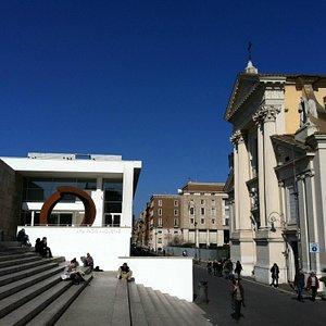 Esterno del Museo dell'Ara Pacis