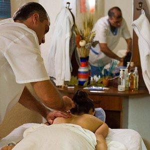 massage in process
