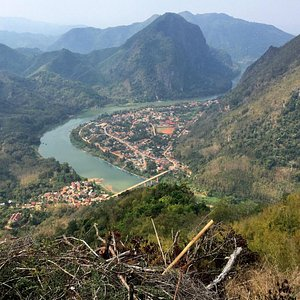 Nong Khiaw and the Nam Ou from the view point