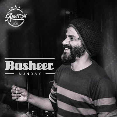 Egyptian folkloric music by singer Basheer every Sunday