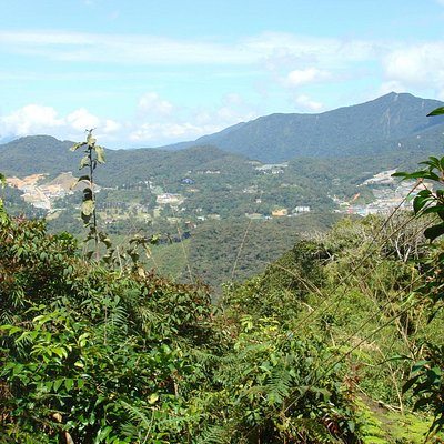 View from G. Berembun