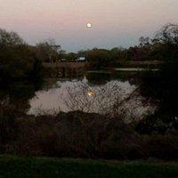Moonrise at Eagle Lake Park