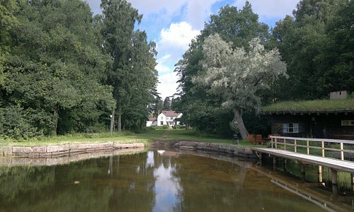 Pyhäjärvi-institute and lakeside sauna