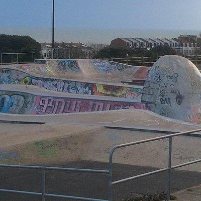 The skate park